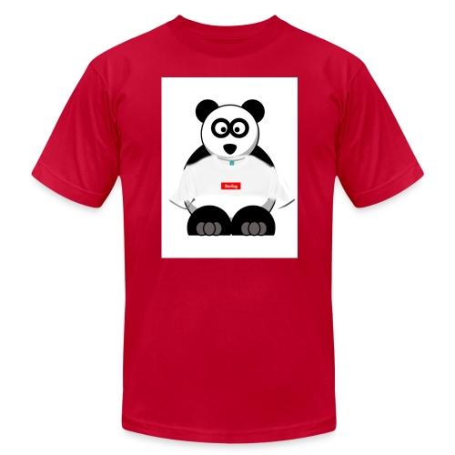 SUPRME PANDA BOX - Men's Fine Jersey T-Shirt