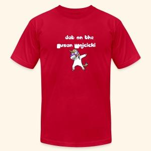 dab on the Susan Wojcicki - Men's Fine Jersey T-Shirt
