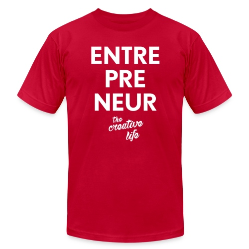 The Entrepreneur Tee - Men's Fine Jersey T-Shirt