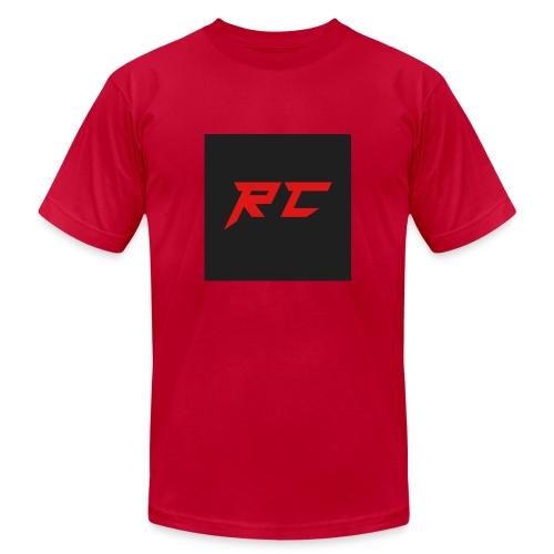 RED RC Logo - Men's Fine Jersey T-Shirt
