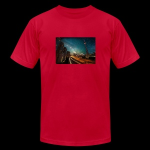 City Nights - Men's Fine Jersey T-Shirt