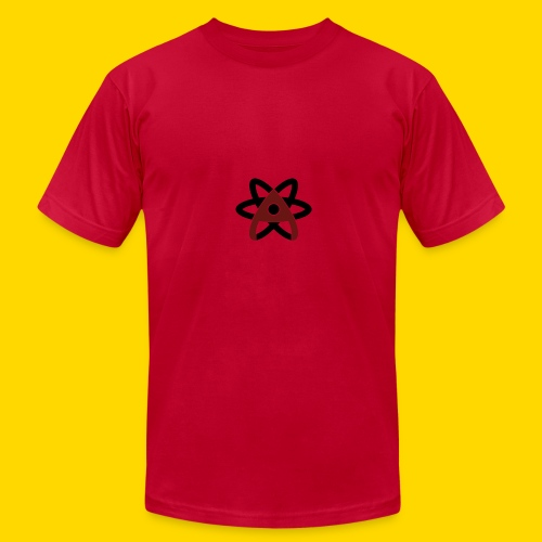 Atom Symbol - Men's Fine Jersey T-Shirt