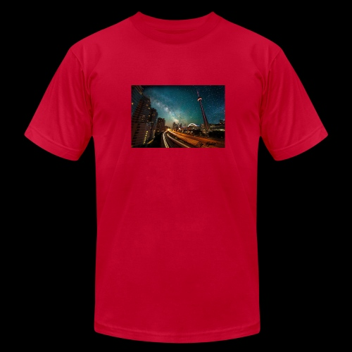 City Nights - Men's Fine Jersey T-Shirt
