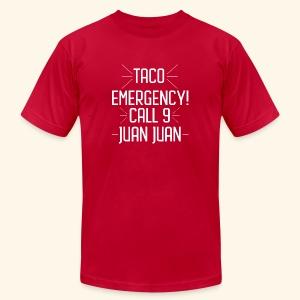 taco emergency - Men's Fine Jersey T-Shirt