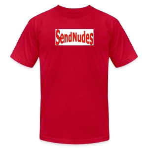 Send Nudes- red - Men's Fine Jersey T-Shirt