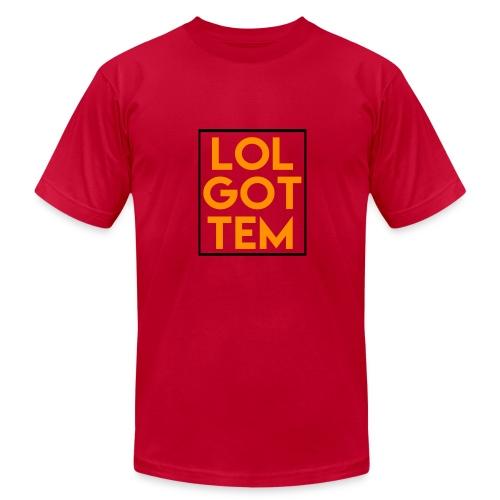 LOL GOTTEM T-Shirt - Men's Fine Jersey T-Shirt