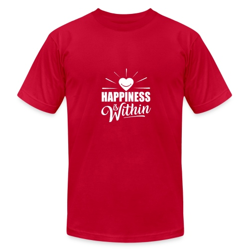 Happiness is Within - Men's Fine Jersey T-Shirt