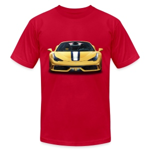 Ferrari 458 Speciale - Men's T-Shirt by American Apparel