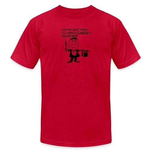 Magician Condom Shirt - Men's Fine Jersey T-Shirt