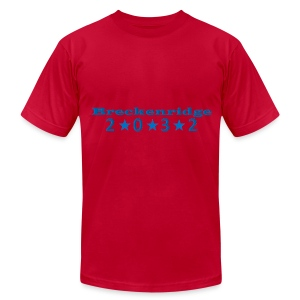 Red 2032 - Men's Fine Jersey T-Shirt