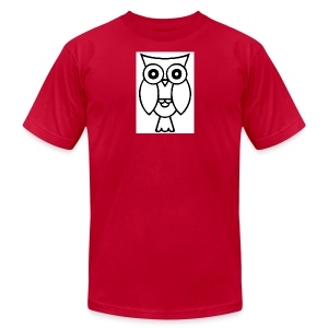 best smart owl - Men's Fine Jersey T-Shirt