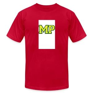 Mp Matthew playz logo long sleeve - Men's Fine Jersey T-Shirt