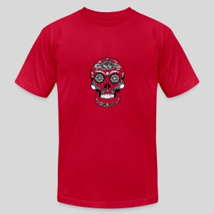 Catrina Black & White - Men's Fine Jersey T-Shirt