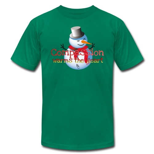 RC WARMS THE HEART HOLIDAY TEE - Men's  Jersey T-Shirt