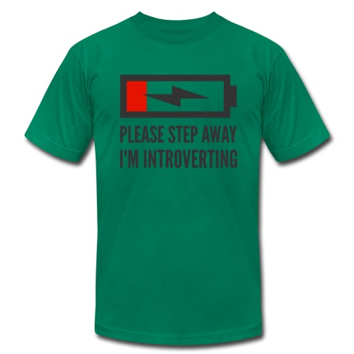 introverting - Men's  Jersey T-Shirt