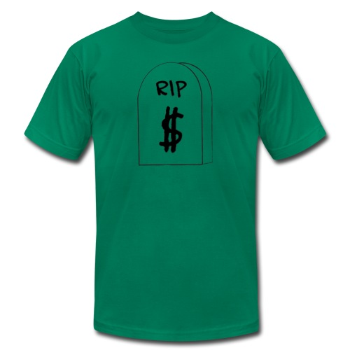 RIP Dollar Bill (USD) - Men's  Jersey T-Shirt