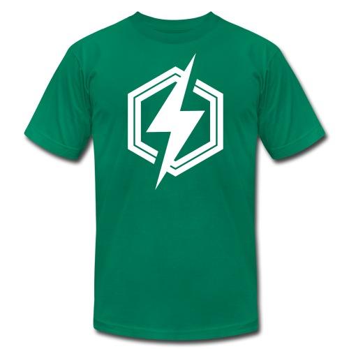 logoblanc - Men's  Jersey T-Shirt