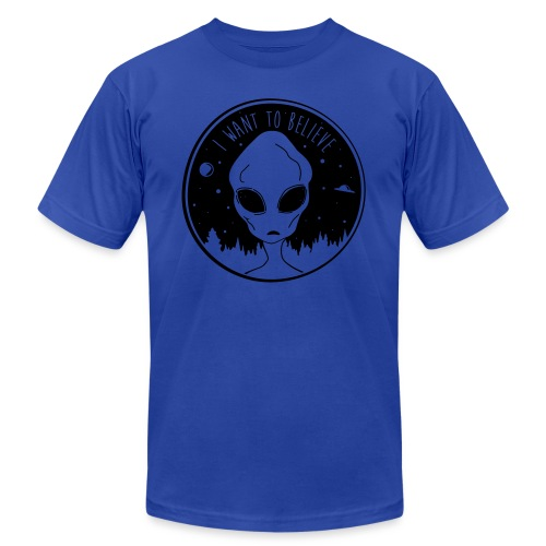 I Want To Believe - Men's Jersey T-Shirt