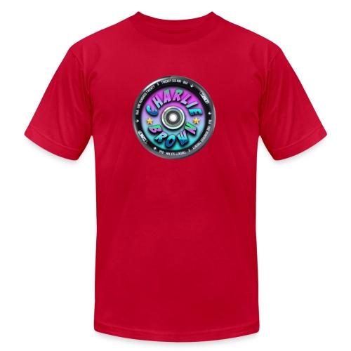 Charlie Brown Logo - Men's  Jersey T-Shirt