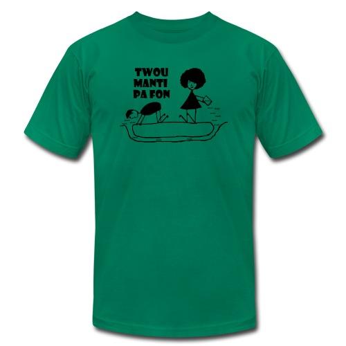Twou_manti_pa_fon - Men's  Jersey T-Shirt