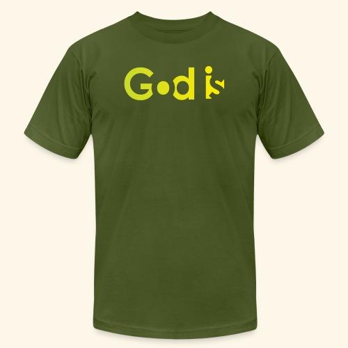 GOD IS #7 - Men's  Jersey T-Shirt