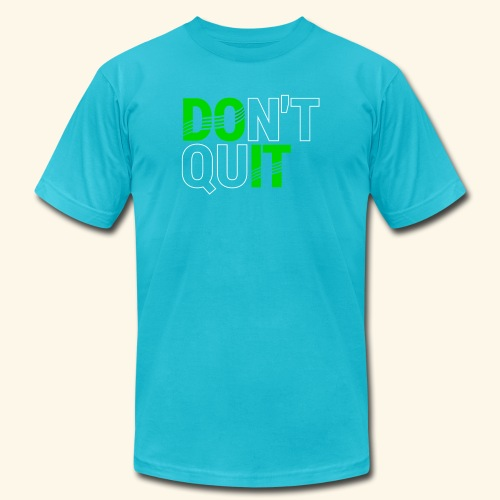 DON'T QUIT #4 - Men's Jersey T-Shirt
