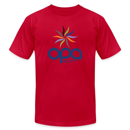 Short-sleeve t-shirt with full color OPA logo - Men's  Jersey T-Shirt