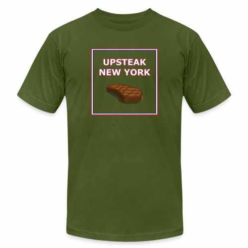 Upsteak New York | July 4 Edition - Men's Jersey T-Shirt