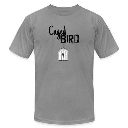 Caged Bird Abstract Design - Men's Jersey T-Shirt