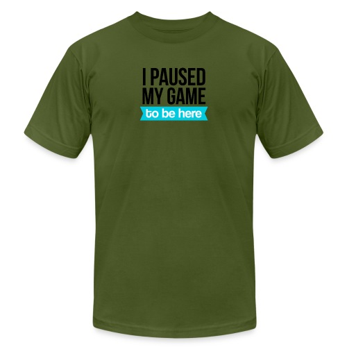 I Paused My Game - Men's  Jersey T-Shirt