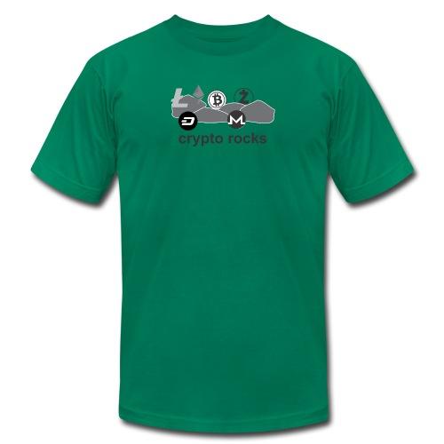 cryptorocks t-shirt - Men's  Jersey T-Shirt