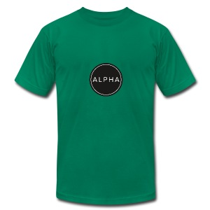 alpha team fitness - Men's T-Shirt by American Apparel