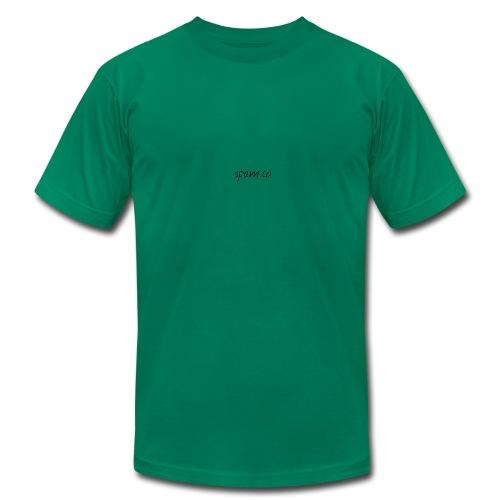 spam.co logo - Men's Fine Jersey T-Shirt