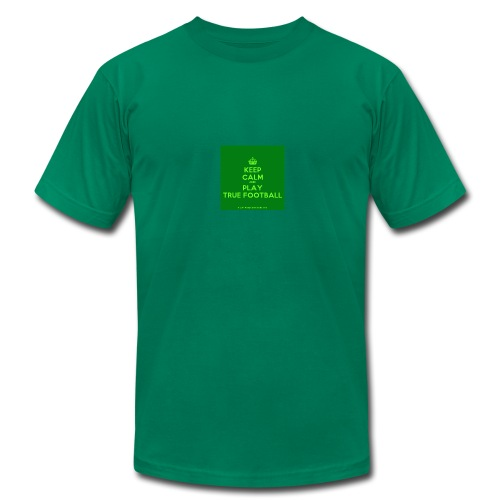 KeepCalmStudio com Crown Keep Calm And Play True - Men's Fine Jersey T-Shirt