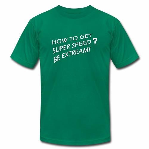 Super Speed Green - Men's Fine Jersey T-Shirt