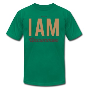 I Am Uncommon - Men's T-Shirt by American Apparel
