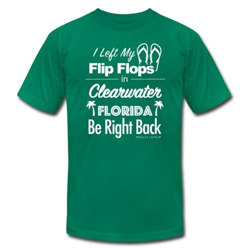 Clearwater Flip Flops - Men's Fine Jersey T-Shirt