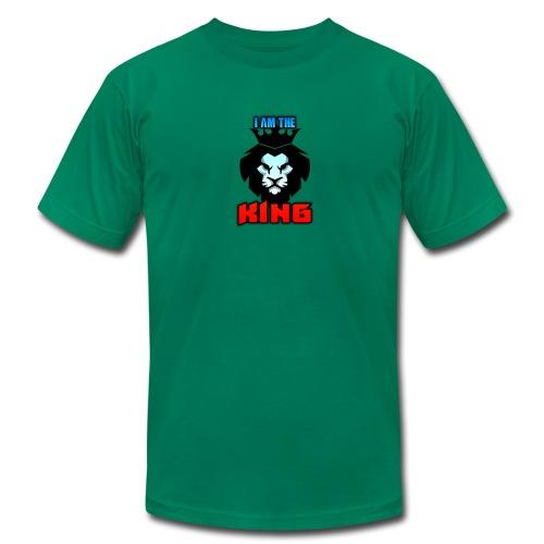 I am the King Logo - Men's Fine Jersey T-Shirt