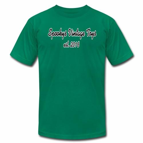 Spookys Vintage Toys Logo - Men's Fine Jersey T-Shirt