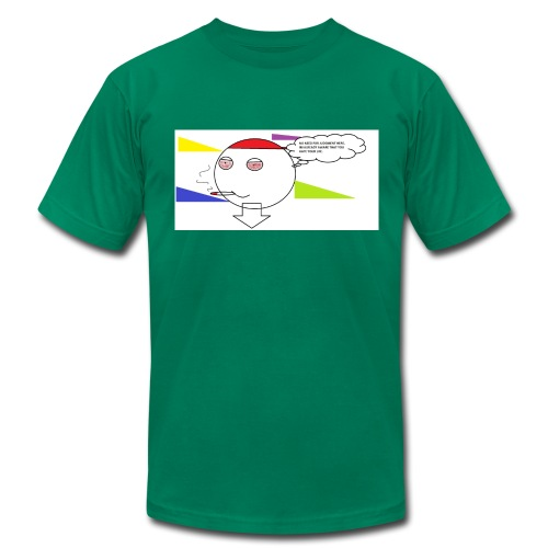 NO JUDGMENT - Men's Fine Jersey T-Shirt