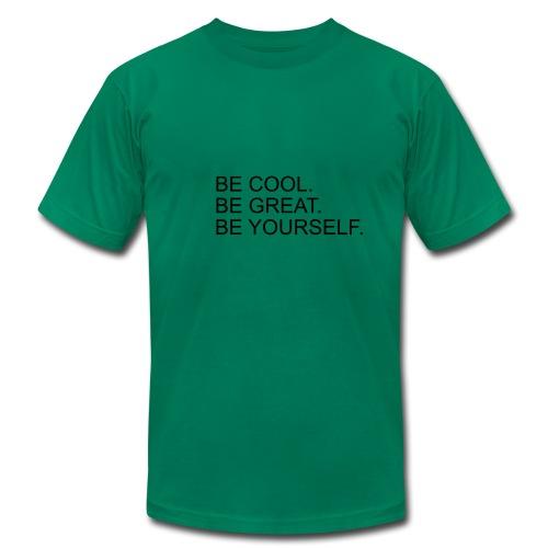 BeCoolBeGreat - Men's Fine Jersey T-Shirt