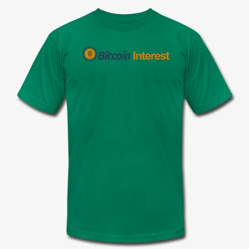 BitcoinInterest - Men's Fine Jersey T-Shirt