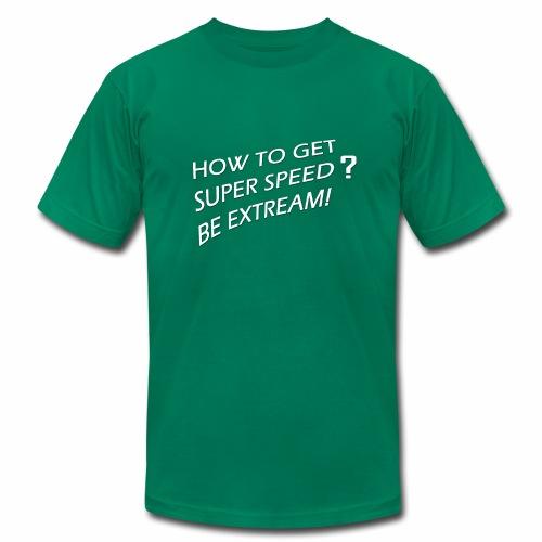 Super Speed Green - Men's  Jersey T-Shirt