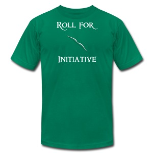 Roll For Initiative - Bow - Men's Fine Jersey T-Shirt