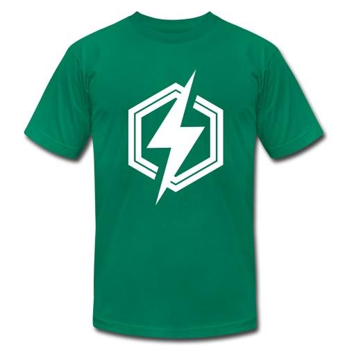 logoblanc - Men's Fine Jersey T-Shirt
