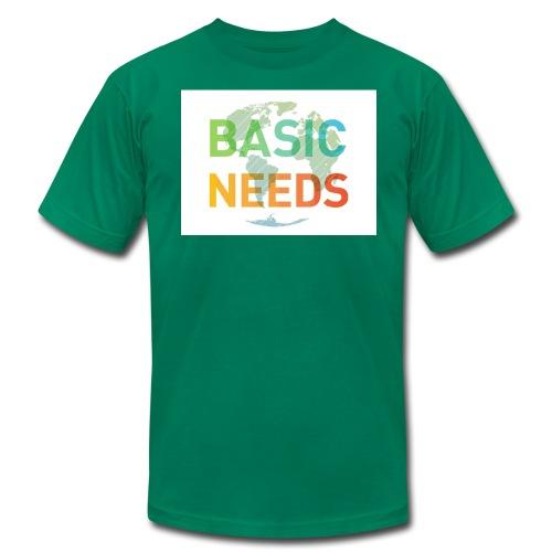 Basic needs - Men's Fine Jersey T-Shirt