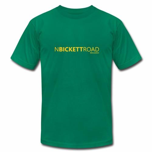 North Bickett Rd - Men's Fine Jersey T-Shirt
