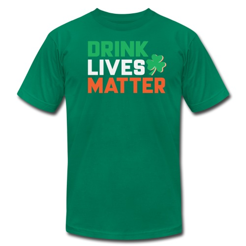 patrick day 2018 t shirt design - Men's Fine Jersey T-Shirt