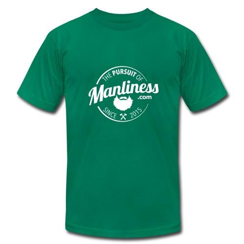 PoM Logo Round - Men's  Jersey T-Shirt