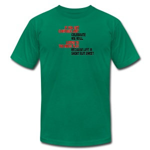 Franklin's Two Step - Men's Fine Jersey T-Shirt